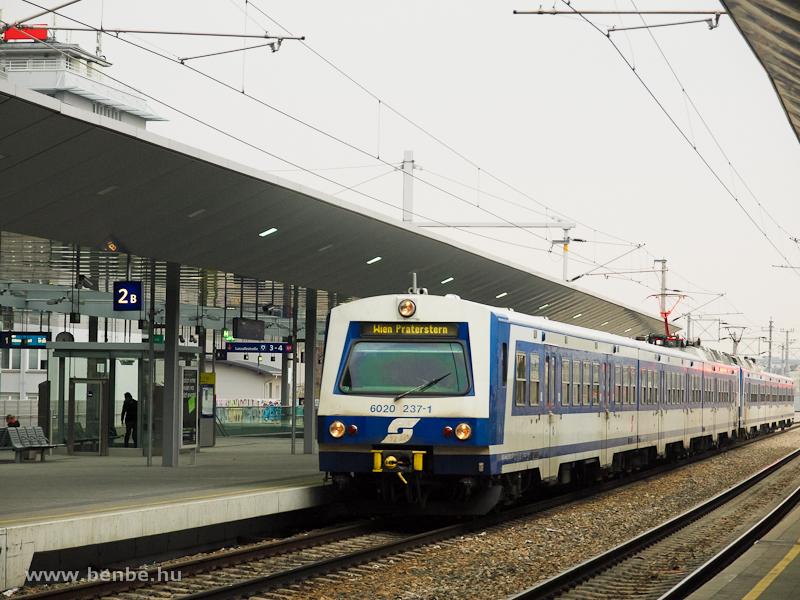 Az ÖBB 6020 237-1 Wien Prat fotó
