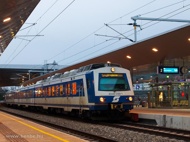 Az ÖBB 4020 268-1 Wien Prat fotó