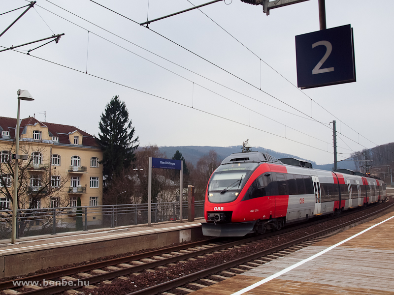 Az ÖBB 4024 127-5 Wien Weidlingau megállóhelyen fotó