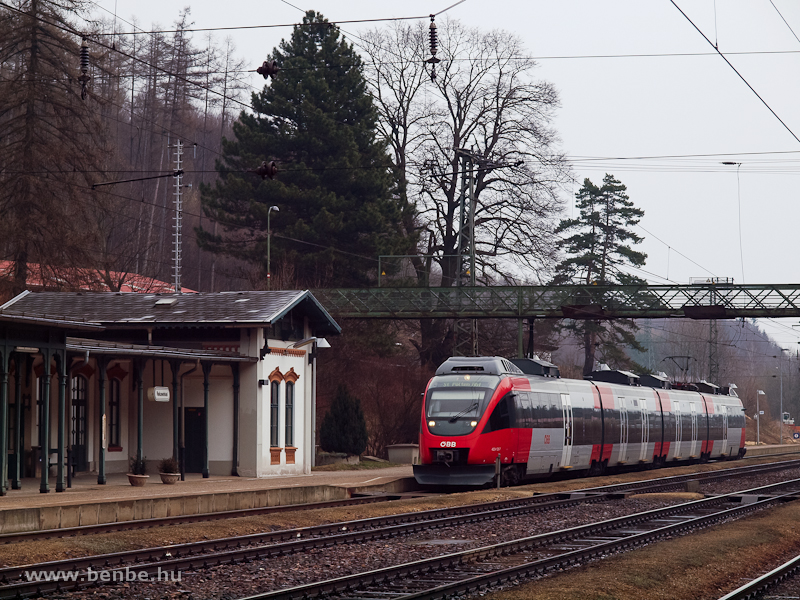 Az ÖBB 4024 125-7 Rekawinkel állomáson fotó