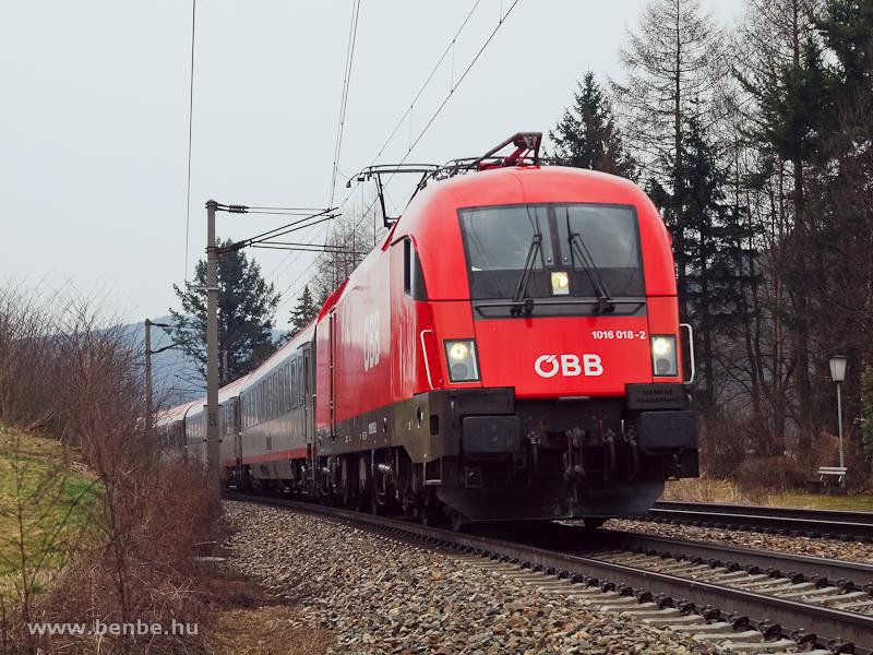 Az ÖBB 1016 018-2 Dürrwienn fotó