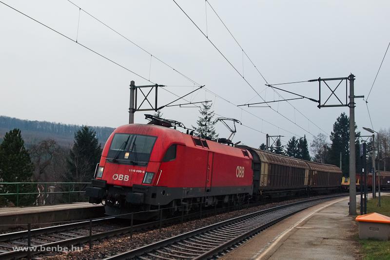 Az ÖBB 1116 086-8 egy teher fotó