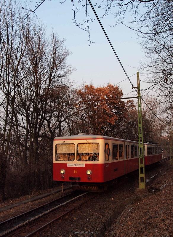 A BKV Fogaskerekű 64-e fotó
