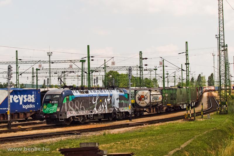 A GYSEV 1047 503-6  Liszt Ferenc  lokomot�v Sopron-Rendezőp�lyaudvaron fot�
