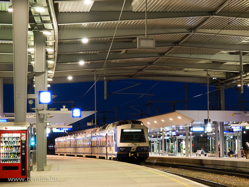 Az ÖBB 4020 247-5 Wien Prat fotó