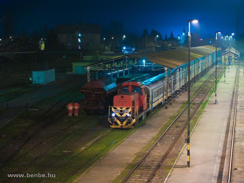 M43 1159 tolat Hatvanban a  fotó
