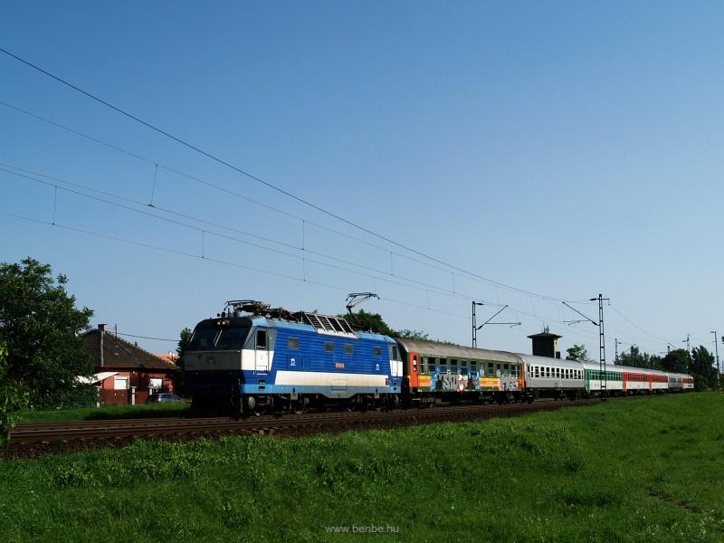 A ŽSSK 350 013-9 pálya fotó