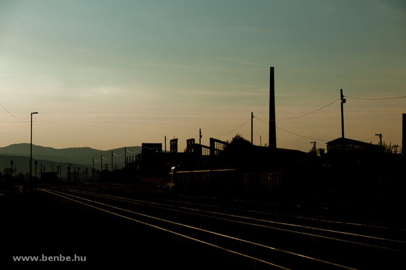 Tolatás Tokod állomáson fotó