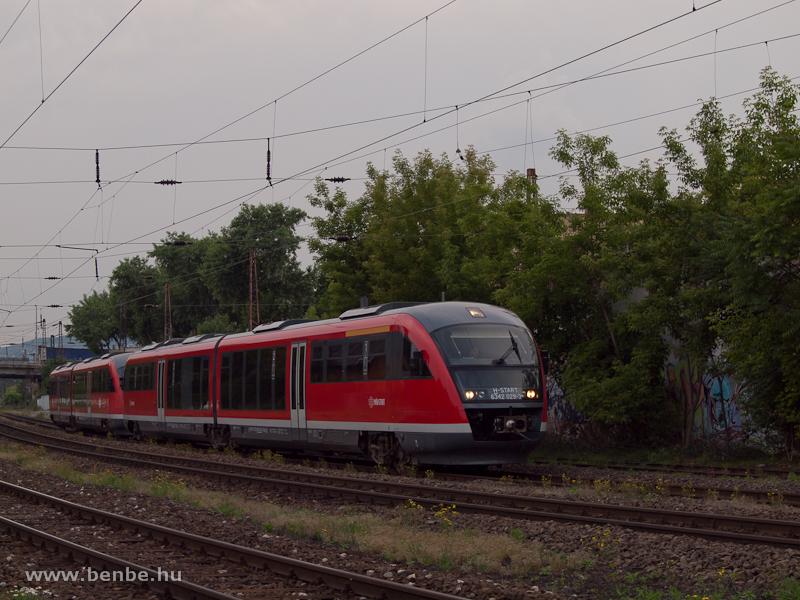A MÁV-START 6342 029-3 pályaszámú Desirója Rákosrendezőn fotó