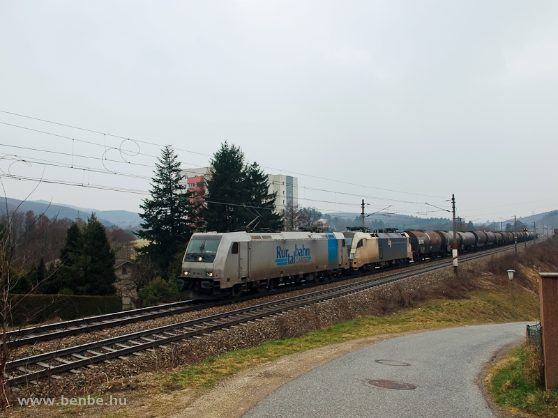 A Railpool TRAXX2 185 584-8 fotó