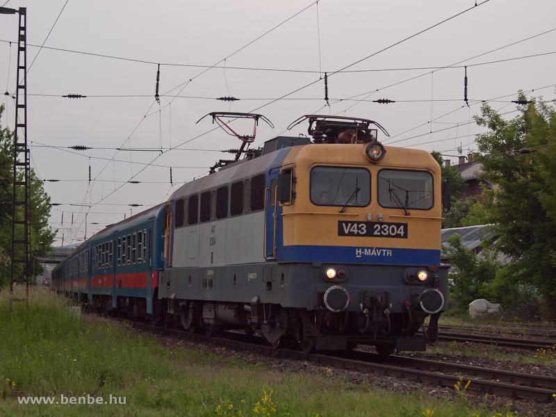 V43 2304 Rákosrendezőn fotó