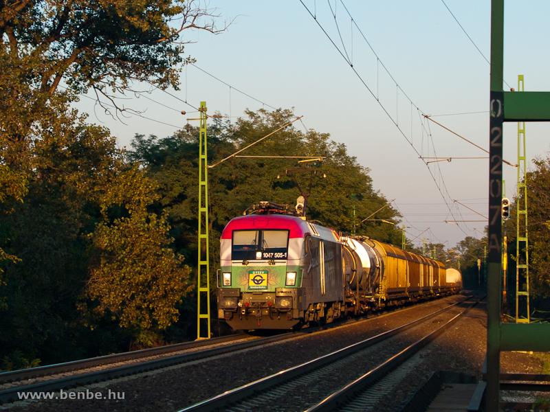 A GYSEV 1047 505-1  Széchen fotó
