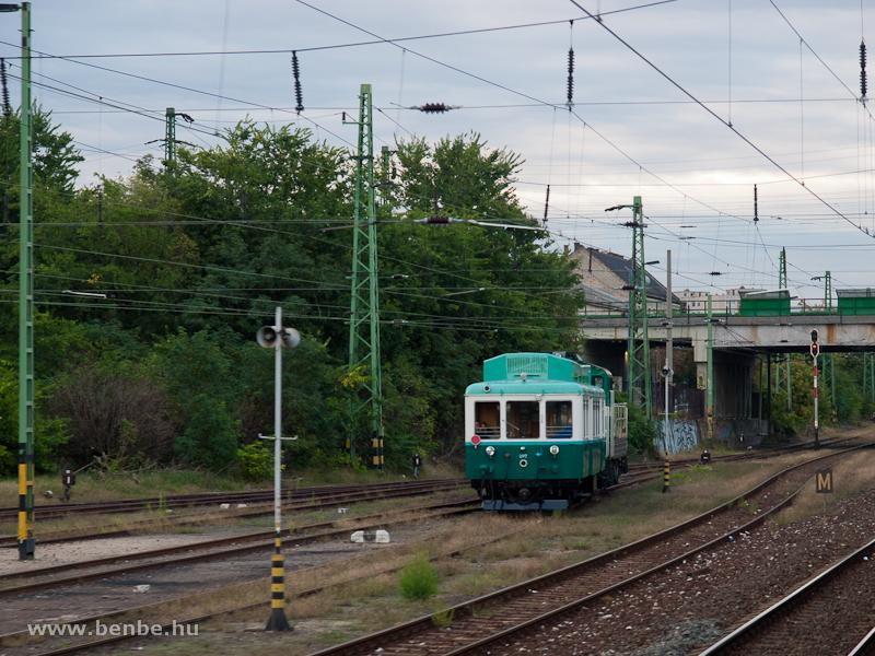 A BKV Boros Béni motorkocsi fotó