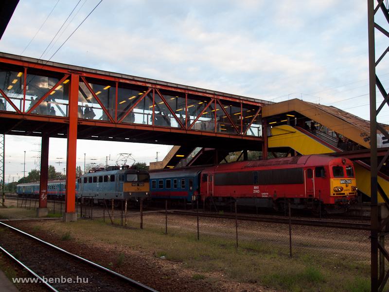 V43 1352 és M41 2140 Kőbánya-Kispesten fotó