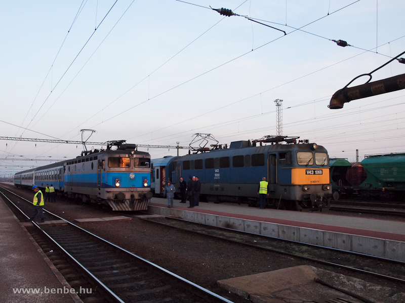 A MÁV-TR V43 1068 és a H&#3 fotó