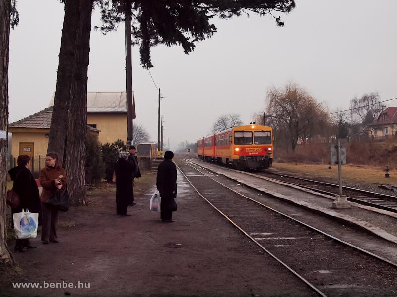 Bzmot 243 Nógrád állomáson fotó
