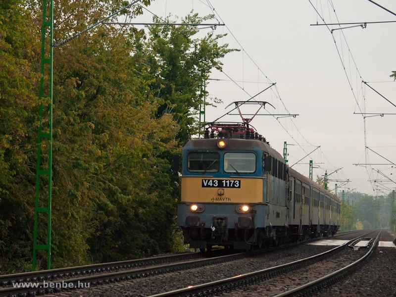 V43 1173 Kőbánya-Kispest és Ferencváros között fotó