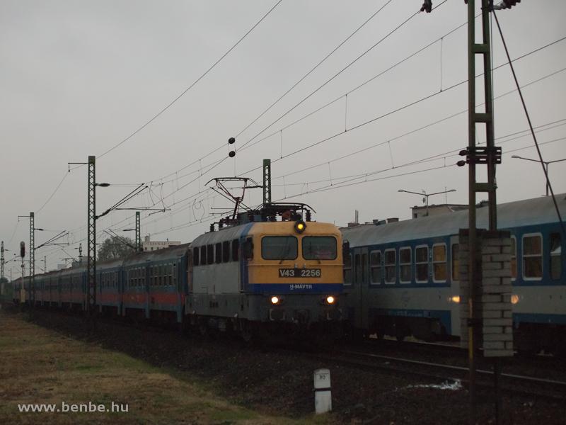 A V43 2256-os Kőbánya alsó és Kőbánya-Kispest között fotó