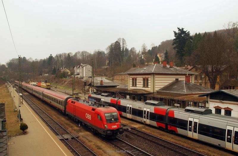 Az ÖBB 1016 030-7 Rekawinke fotó