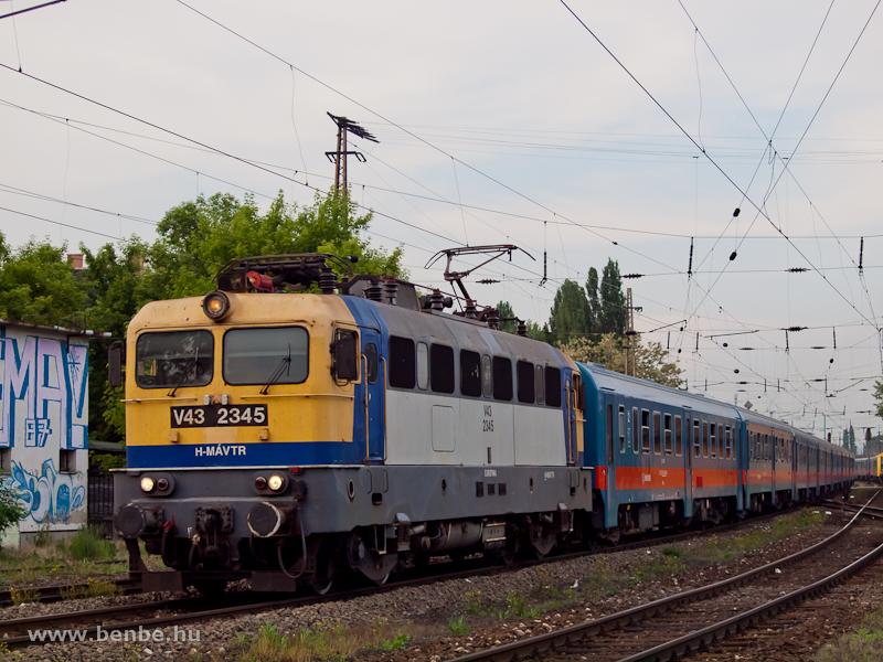 V43 2345 Rákosrendezőn fotó