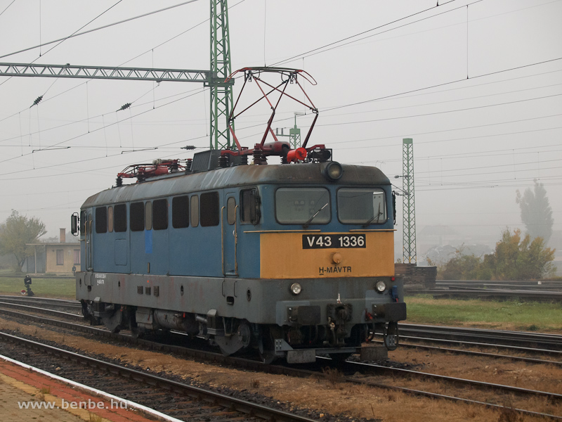 The V43 1336 at Veszprém photo