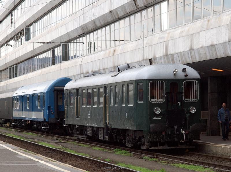 A Bbmot 640 a Déli pályaudvaron fotó