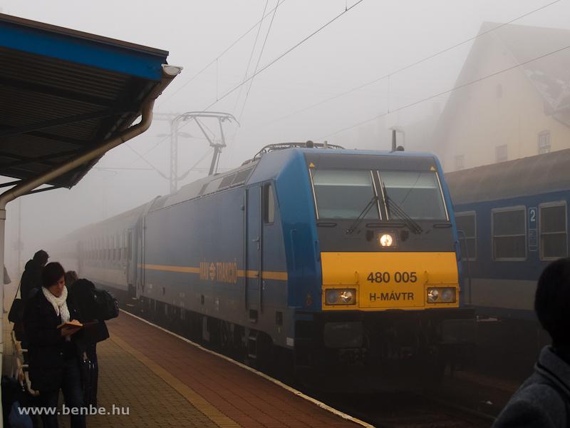 480 005 Veszprémben fotó