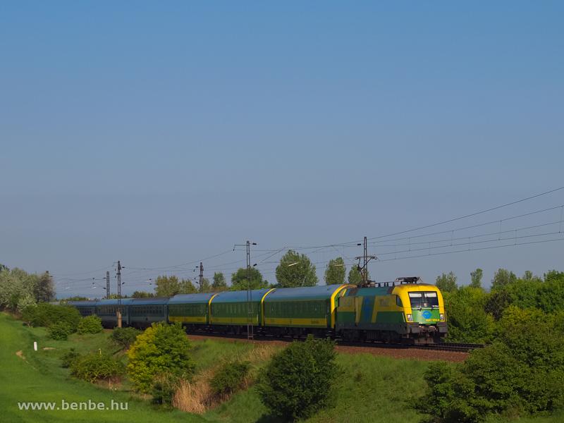 A GYSEV 1047 504-4 Biatorbágynál fotó