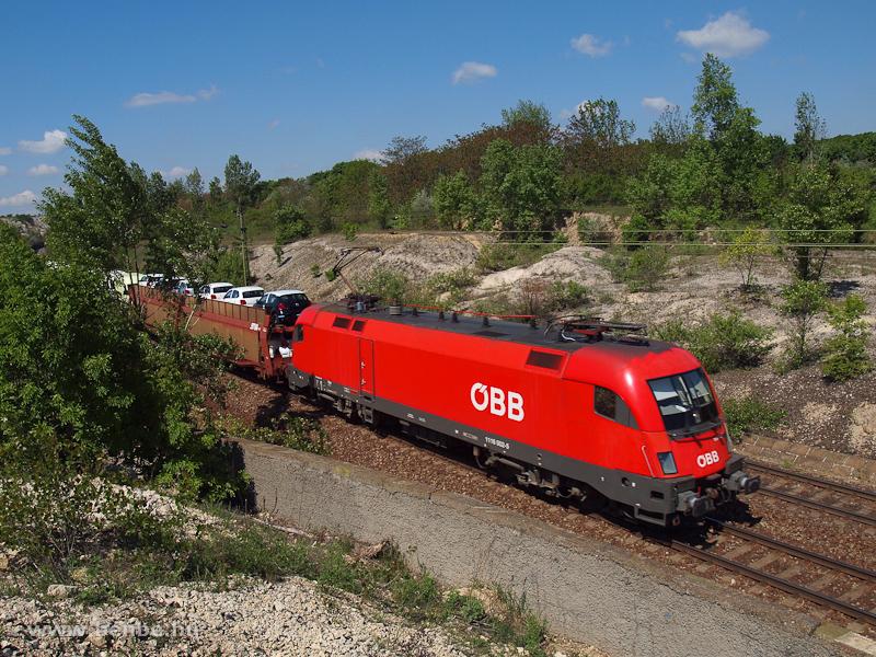 Az ÖBB 1116 002-5 Szár és Bicske között egy tehervonattal fotó