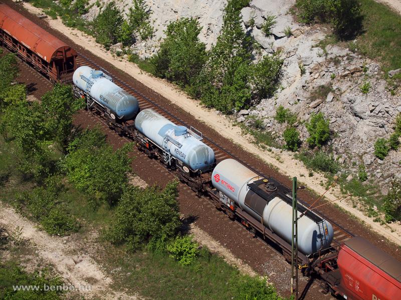 Kénsavszállító tartálykocsik fotó