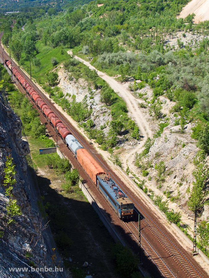 The V63 015 is hauling a freight train near Alsógalla photo