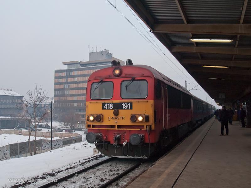 A 418 191-es Csörgő Zuglóban fotó