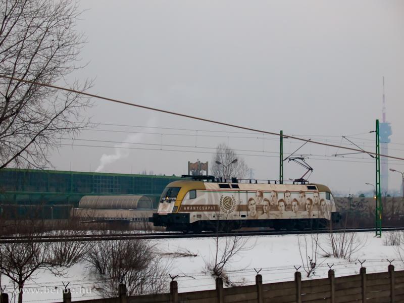 A 470 010  Aranycsapat  Ferencváros és Kőbánya-Kispest között fotó