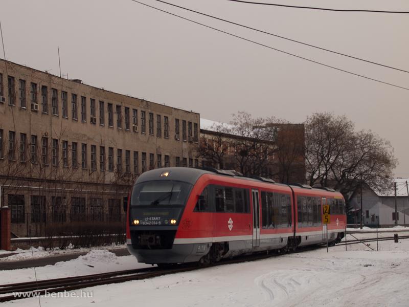 A 6342 014-5 pályaszámú Desiro Kispesten fotó