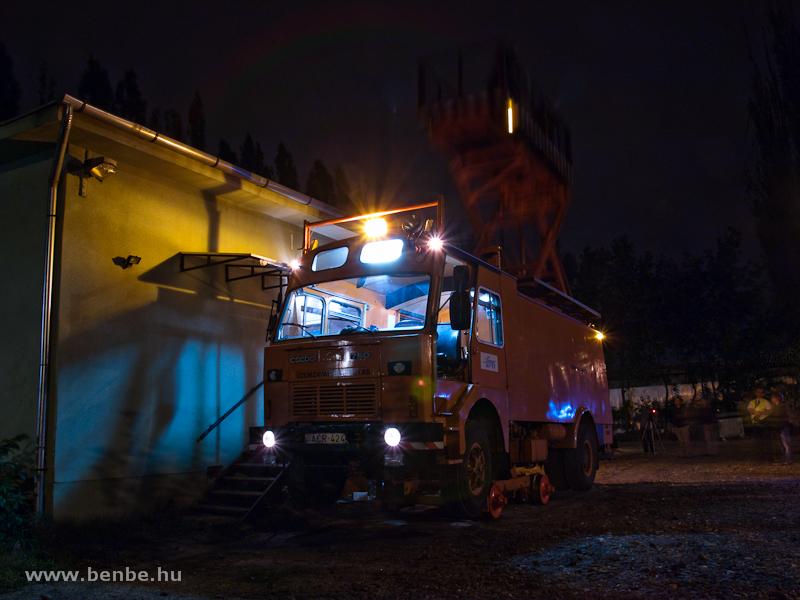 Csepel-Schörling felsővezetékvizsgáló kocsi (plafontapasztó) Ó-Békáson fotó