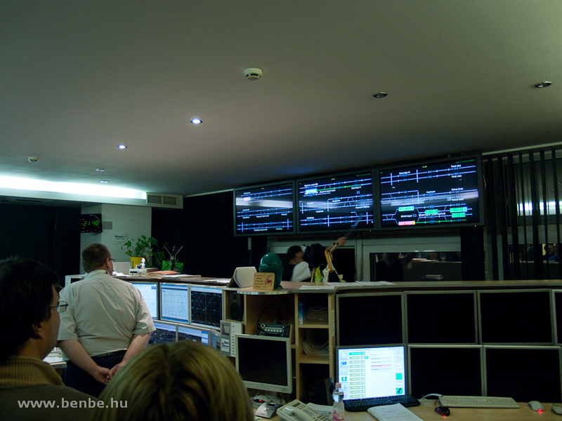 The train control room at Békásmegyer photo