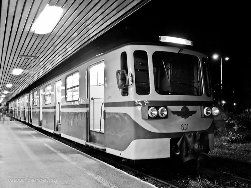 Az MIX/A 831 Békásmegyeren fotó