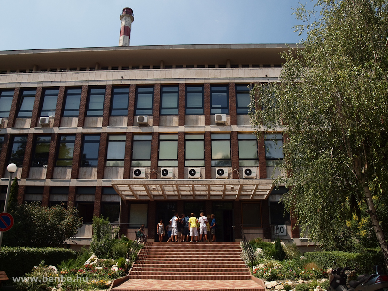 A KFKI Wigner Jenő atommagkutató intézet épülete fotó