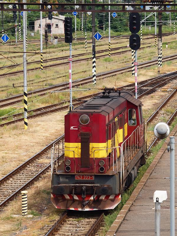 A ŽSCS 742 223-1 Párkányban fotó