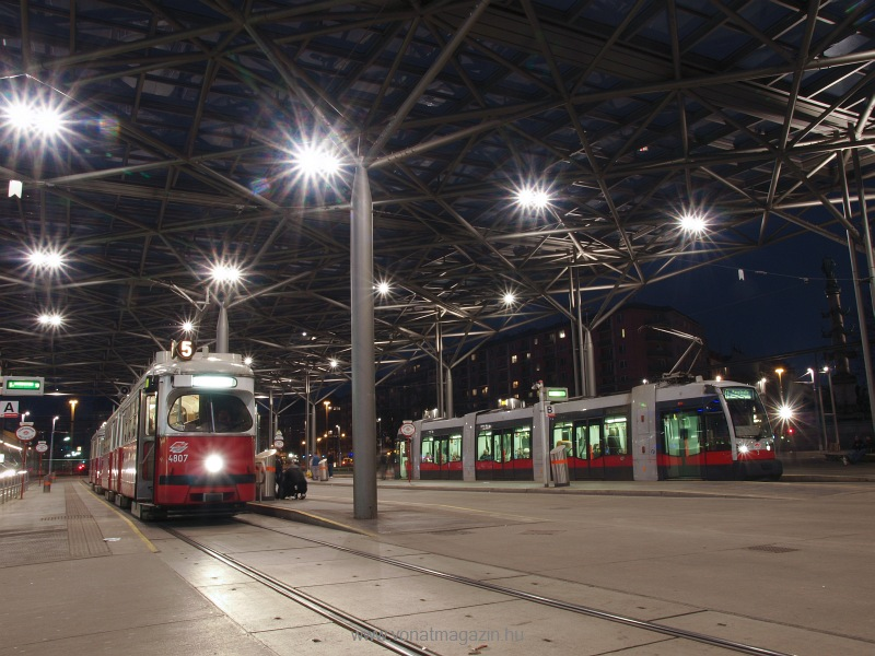 A Wiener Linien 4807-es szá fotó