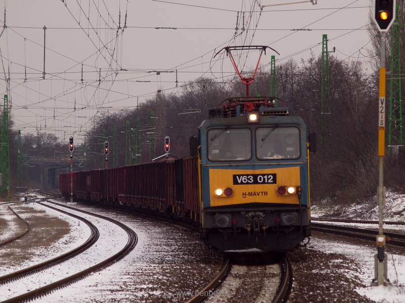 The V63 012 at Pestszentlőrinc photo
