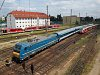The MÁV-TR 480 001 TRAXX at Budapest-Nyugati