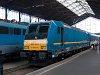 A M�V 480 001-es TRAXX mozdonya (alias a K�k T�gla) v�gre elkezdte forda szerinti vonattov�bb�t�si feladatait