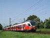 A MÁV-START 5341 021-3 pályaszámú Stadler FLIRT motorvonata a 70-es vonalon Káposztásmegyernél