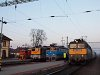 The V43 1068m 1141 010, V43 3347 and M47 1320 at Gy�k�nyes