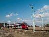 Burgenlandi forrásból beszerzett 4124-es Vulkapordány állomásra érkezik Ebenfurth felől