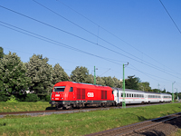 The ÖBB 2016 022 between Sopron-Ipartelepek (used to be Sopron-Déli) and Sopron-GYSEV