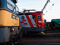 The V43 1068 and 1141 303 at Gy�k�nyes