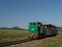 The Szob Narrow Gauge Railway's D04-601 at Márianosztra station