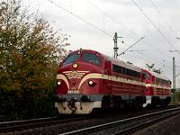 Az M61 020 és az M61 001 a Ferencváros és KÖKI közötti összekötő vasútvonalon